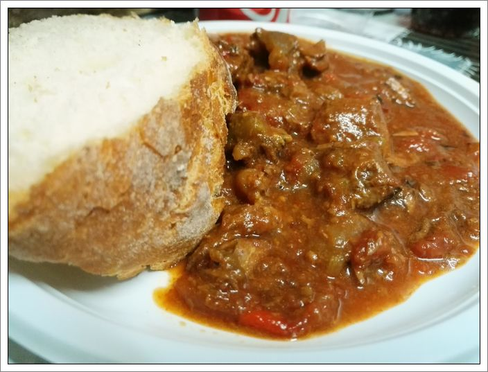 Gulash con la slow cooker