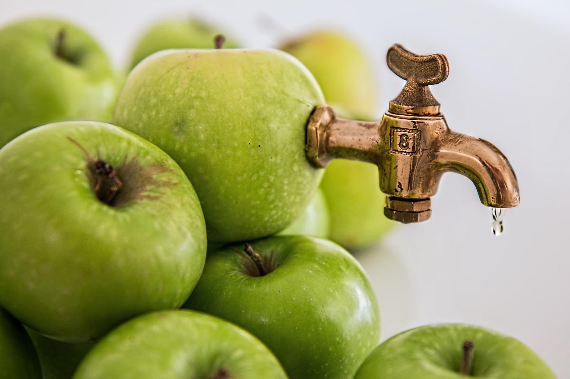 Estratto di mela e pepe