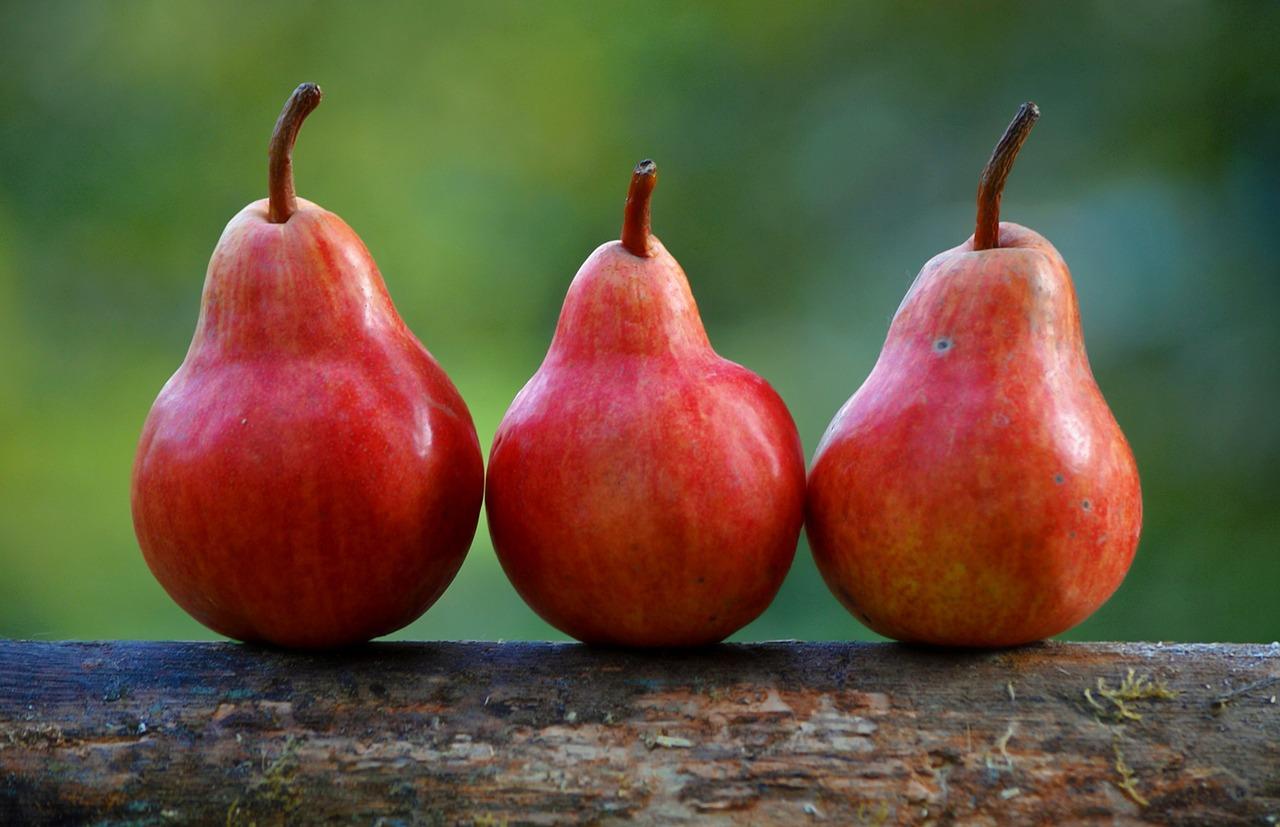 Estratto di pera con miele e canella