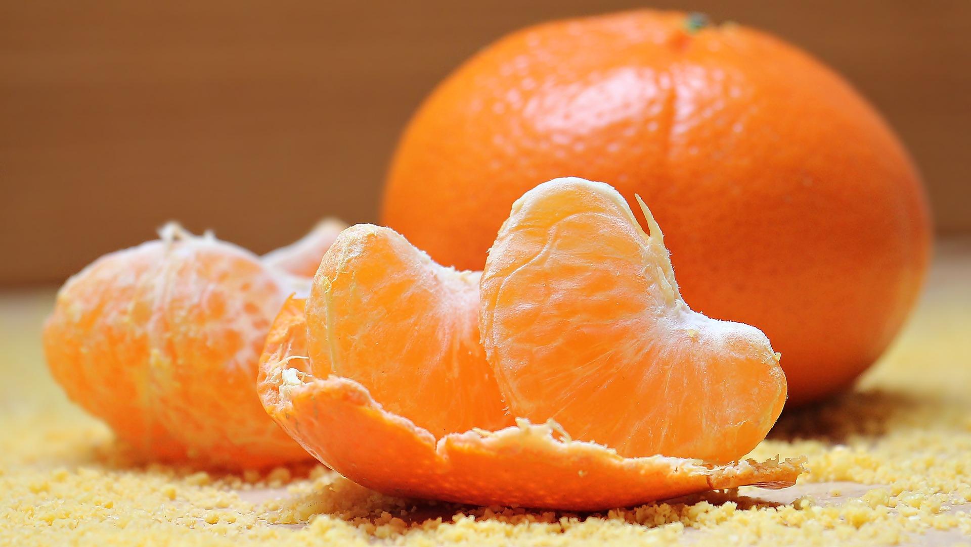 Estratto di clementine e mela